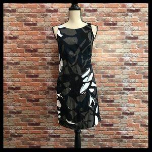 Vince Patterned Sheath Dress